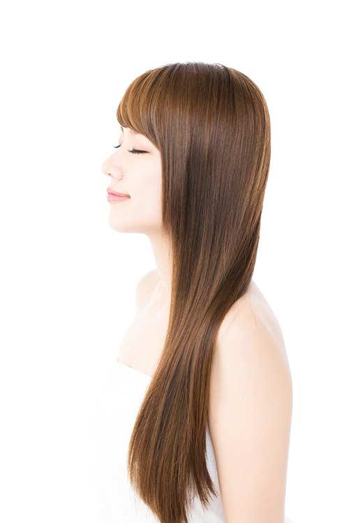 女性の髪のお悩みセルフチェック